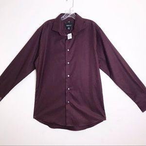 Kenneth Cole | Slim Fit Dress Shirt Long Sleeve